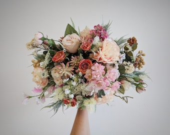 Wedding Bouquet, Wedding Flowers, Silk Flower Bouquet, Silk Flowers, Bouquet, Flower Bouquet, Bridal Bouquet, The Faux Bouquets