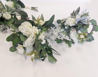 Wedding Bouquet, Bridal Bouquet, Artificial Flower Bouquet, Silk Flower Bouquet,  Flower Bouquet, Wedding Flowers, Silk Flowers, Bouquet