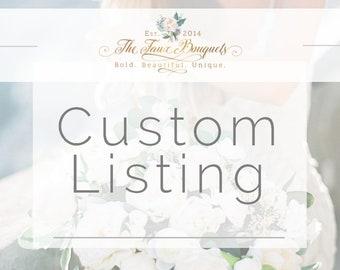 Custom Listing for Mary Beth