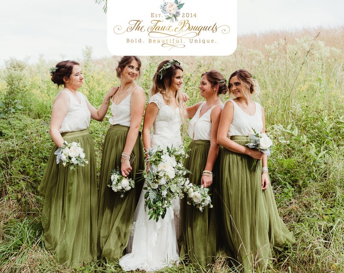Featured listing image: Wedding Bouquet, Bridesmaids Bouquet, Wedding Flowers, Boutonniere, Silk Flower Bouquet, Silk Flowers, Floral Garland, The Faux Bouquets