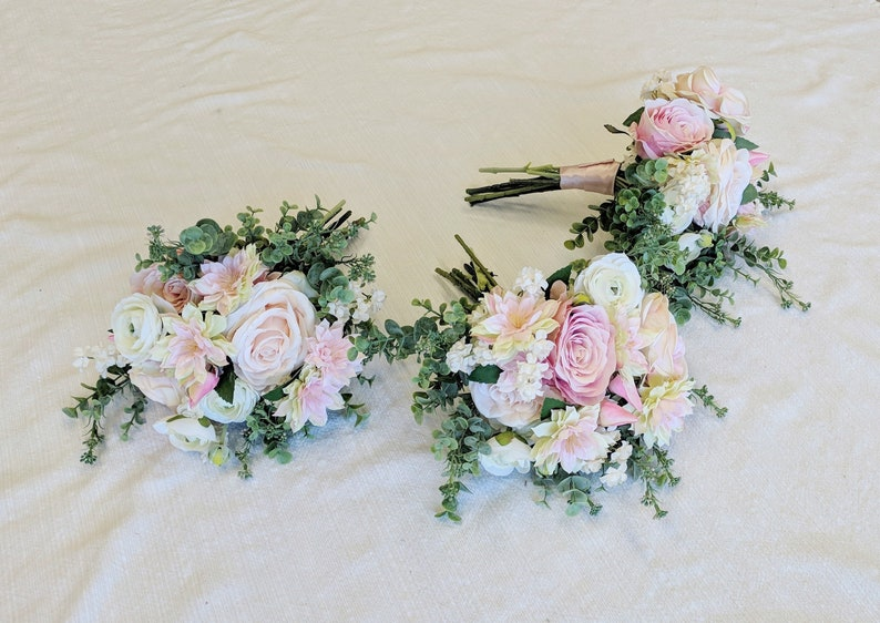 Wedding Bouquet Wedding Flowers Bouquet The Faux Bouquets Bridesmaid Bouquet Silk Flowers Silk Flower Bouquet Flower Bouquet