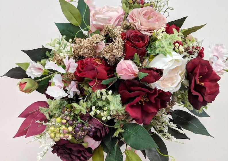 Bridal Bouquet Wedding Flowers The Faux Bouquets Silk Flower Bouquet Bouquet Silk Flowers Flower Bouquet Wedding Bouquet