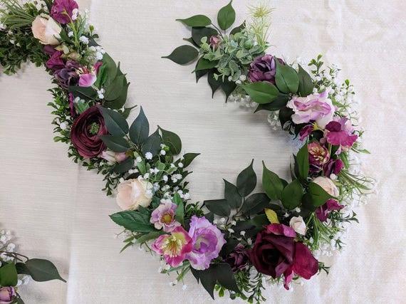 Wedding Garland Flower Garland Eucalyptus Garland Wedding Etsy
