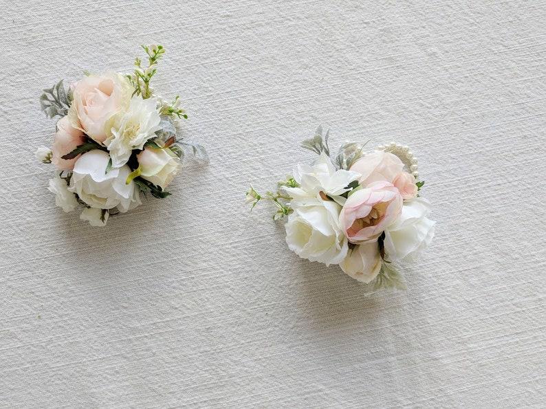 Silk Flowers Wedding Flowers Silk Flower Corsage The Faux Bouquets Wedding Corsage Flower Corsage Corsage