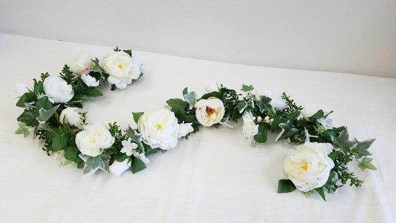 Wedding garland flower garland eucalyptus garland wedding etsy image 0 mightylinksfo