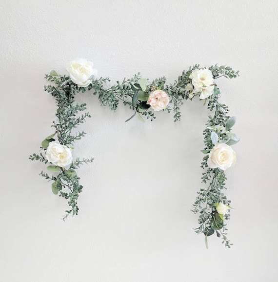 Flower Garlands For Weddings: Wedding Garland Flower Garland Eucalyptus Garland Wedding