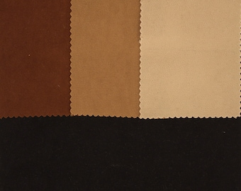 "Classic Moleskin Solid Color Fabric By The Yard ""MLSK1J"""