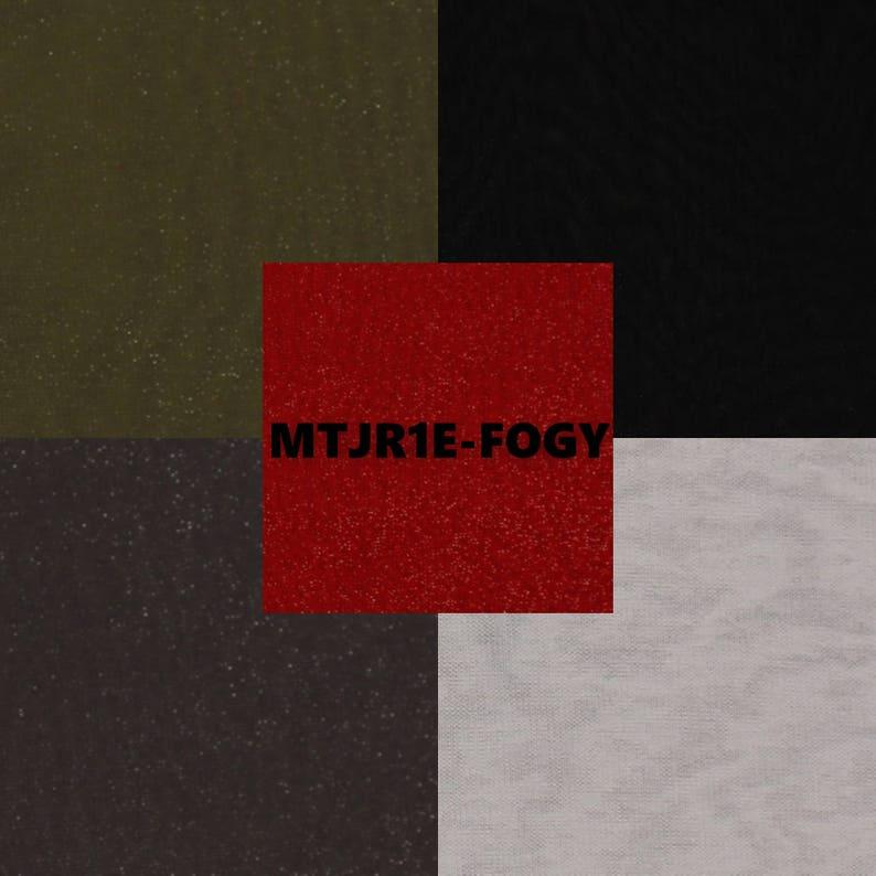 2e8e603c8bb Sparkle Matt Jersey Knit Fabric MTJR1E-FOGY   Etsy