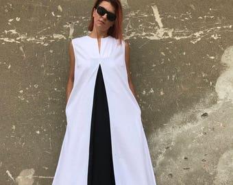 Bianco abito in lino 5347f2f34ce