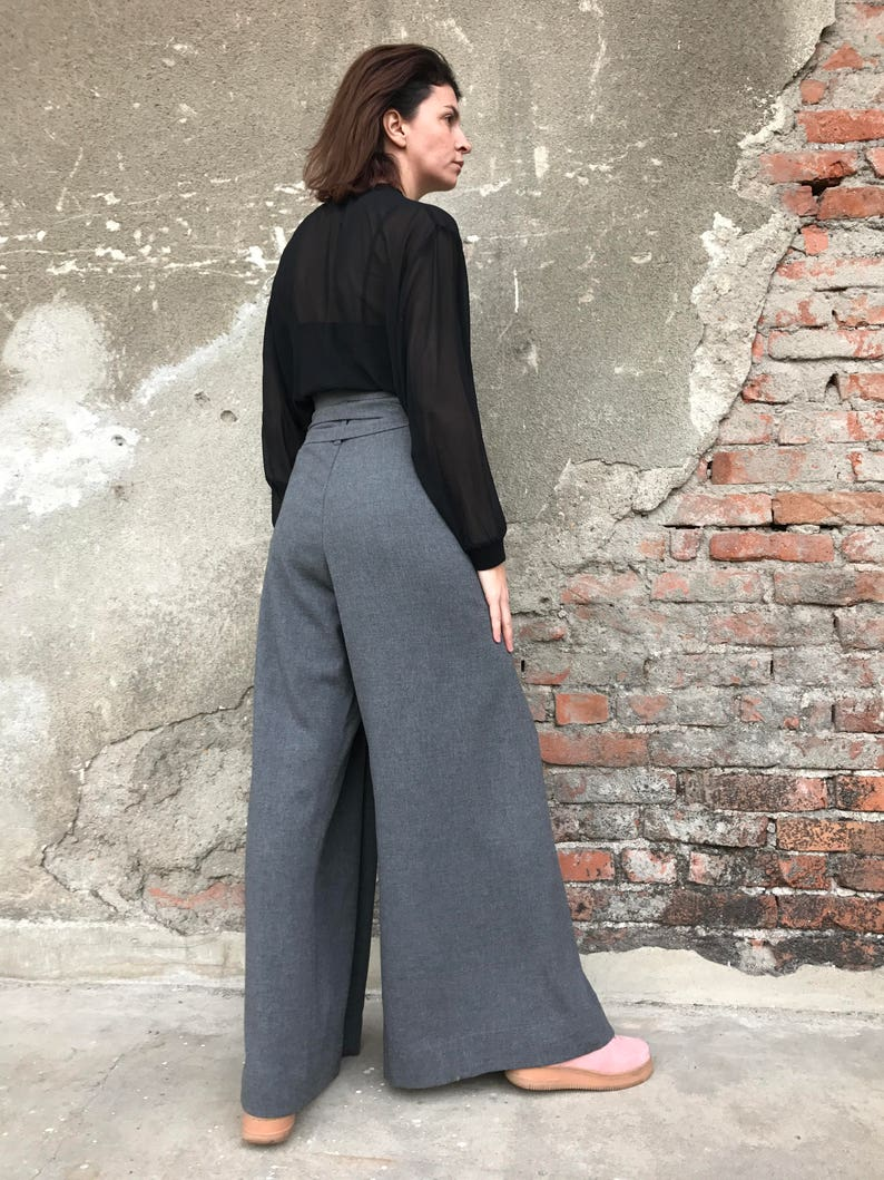 7f8d523be30 Palazzo Pants High Waist Pants Wide Leg Pants Women Pants