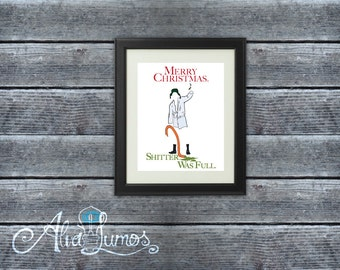 National Lampoon Christmas Vacation Cousin Eddie Christmas Printable Wall Art, Cousin Eddie Xmas art print, INSTANT DOWNLOAD