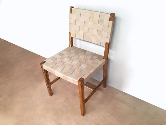 Surprising Dining Chair Set Of Dining Chairs Saddle Leather Woven Dining Chairs Danish Modern Mid Century Handcrafted Hardwood Furniture Side Ibusinesslaw Wood Chair Design Ideas Ibusinesslaworg
