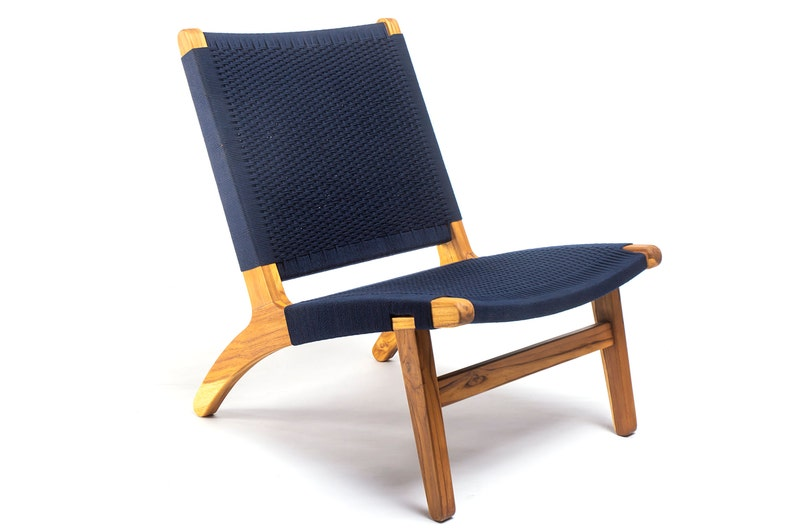 Magnificent Navy Blue Lounge Chair Mid Century Modern Accent Chairs Hardwood Furniture Scandinavian Sustainable Wood Handmade Furniture Best Image Libraries Counlowcountryjoecom
