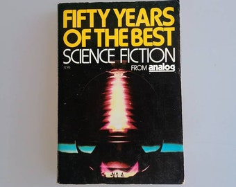FIFTY YEARS of the Best Science Fiction From ANALOG ~ Like New/Unread! ~ Short Story Anthology ~ Vintage Paperback Book (Schmid, Davis 1980)