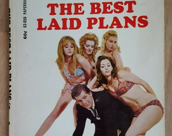 052cebe36 Coxeman  10  The BEST LAID PLANS ~ Paperback Book ~ Vintage Erotic Fiction  Novel ~ 1st Printing! (Conway