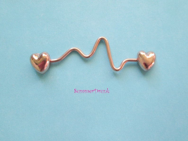 body jewelry Rose gold industrial piercing,industrial barbell 14 ga barbell body barbell industrial body piercing body piercing
