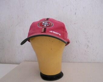 d48d05c2a Vintage San Francisco 49ers Hat Authentic NFL Pro Line Pro Fit Adjustable  Cap One Size