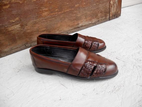 Vintage Men's Italian Leather Cole Haan Bragano Sh
