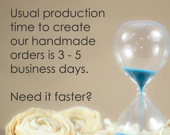 Production Upgrade to Your Moonkist Creations Purchase - Ready to Ship in 2 Business Days