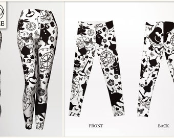 Leggings - Alice in Wonderland