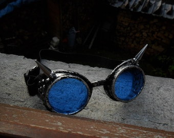 mad max customized steampunk goggles