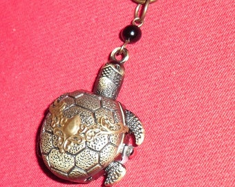 Mini-Montre turtle Pocket Watch and print