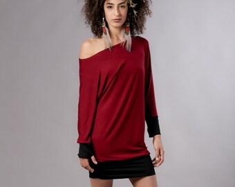 a9fe490ed9e Boho Dress Mini Dress Long Sleeve Dress Bohemian Clothing | Etsy