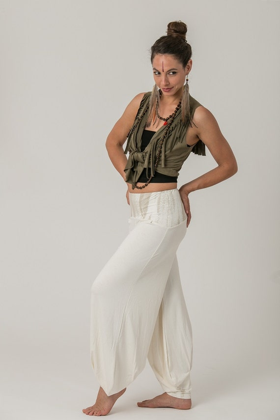 Clothing White Bohemian Boho Clothes Women's Pants Clothing Boho Bohemian Harem Pants Yoga Yoga Pants Festival Pants Pants Harem xfvwZ1x