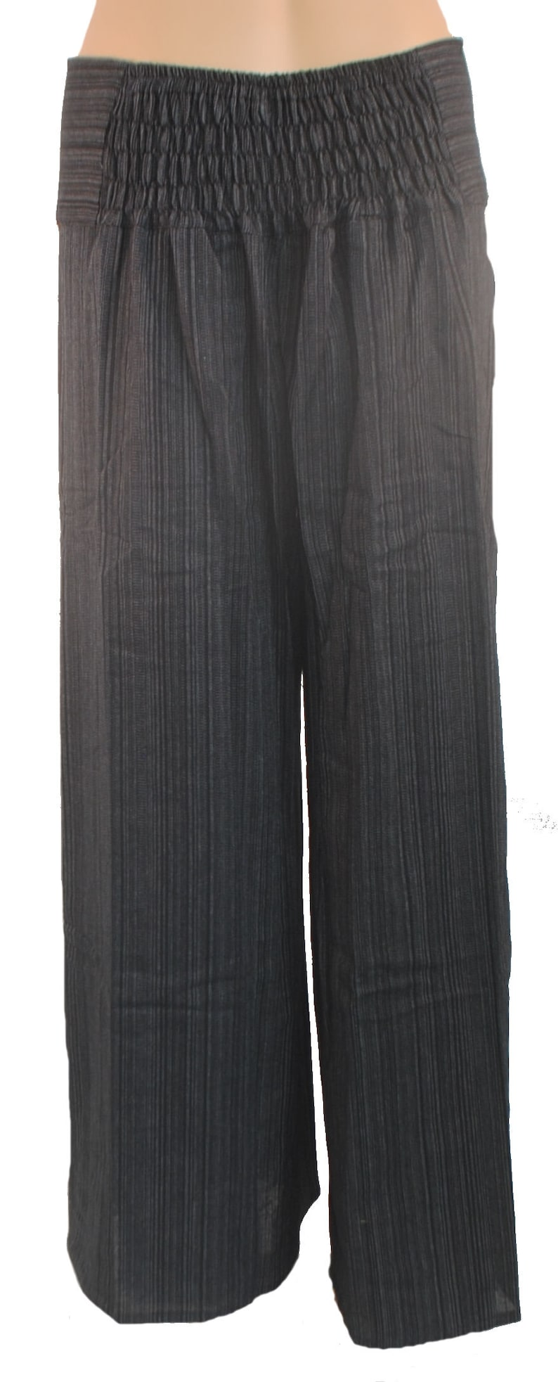 Fair Trade Nepalese Stripy Hippy Travel Loose Lightweight Festival Trousers N31