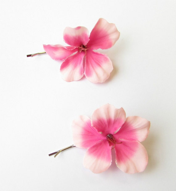 Hibiscus Flower Bobby Hair Pin Health & Beauty
