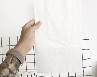 Paperbag - Clean white bag for your design