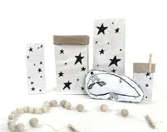 Étoiles - sac en papier
