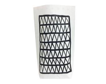 Nets, Paper bag, Storagebag, papiersack, interior decor, scandistyle