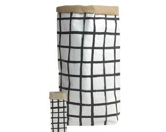 Thin Grid - Paper Bag