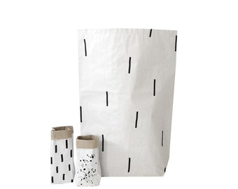 Needles Paper Bag, Storage bag great decoration for the kids room and scandistyle interior