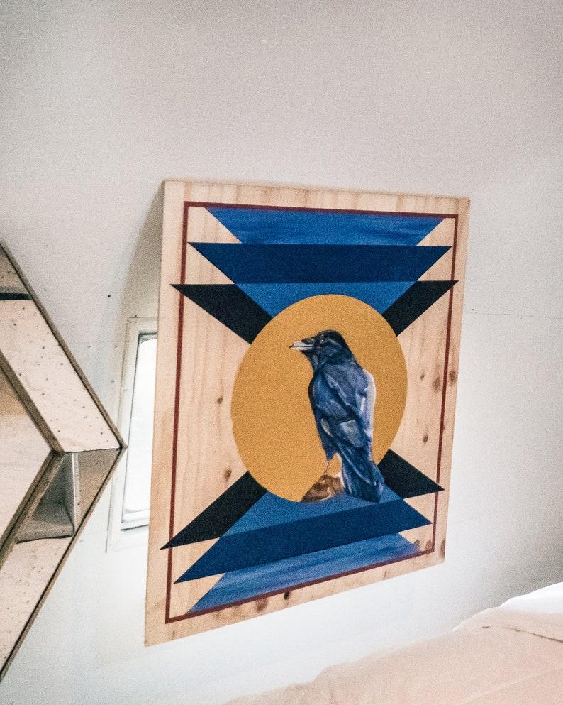 Commissions on Wood Panel