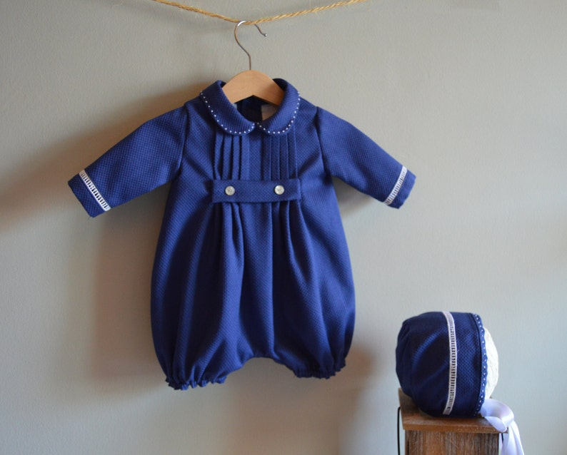 Romper BECKETT Baby Boy NB Baby Shower Birthday Easter Xmas Baptism Christening Dedication Blessing Naming 2 Years Custom your OWN outfit