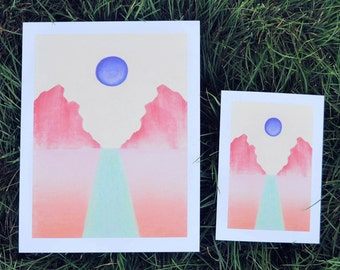Sustenance • Chalk Pastel Art Print