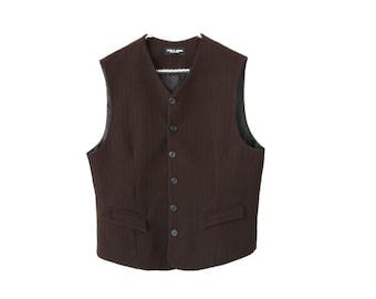 Vintage Rodeo Rustic Mens Puffer Vest Bodywarmer Gilet