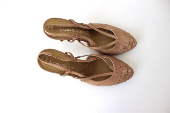 classique 5 pompes chaussures Beige talon Summer EUR Laura 6 Chelini chaussures haut 4 UK Leather US femmes 37 tqxaXwn8