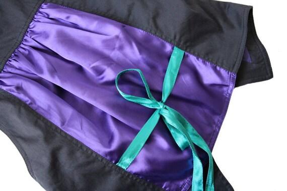 Womens Gray Purple Vest Cotton Formal Waistcoat M… - image 5