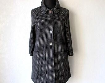 Soft Knitted  Cardigan Black Gray White Women Sweater 3/4 Sleeves Cardigan Large Size