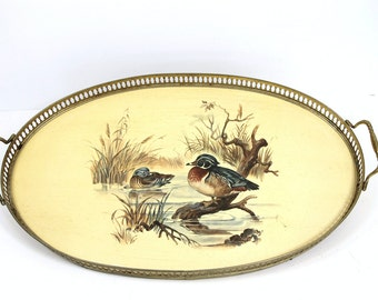 Servingtray with ducks