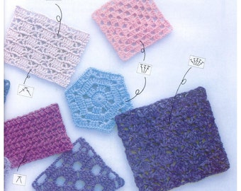 Beginners - 107 Examples of Crochet Techniques and Pattern Ebook PDF