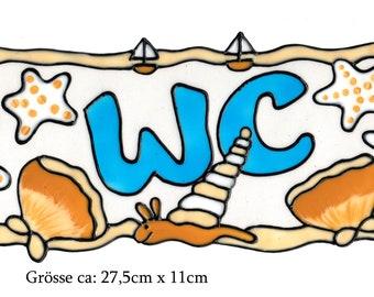 029 Handgemaltes Window Color Fensterbild WiCo Maritimes Allerlei