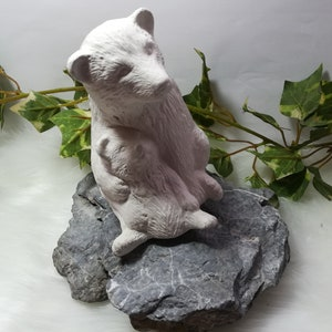 Handmade latex full-form casting form latex form concrete form latex shape casting mold casting mold for sculptures Easter bunny small 02 Easter