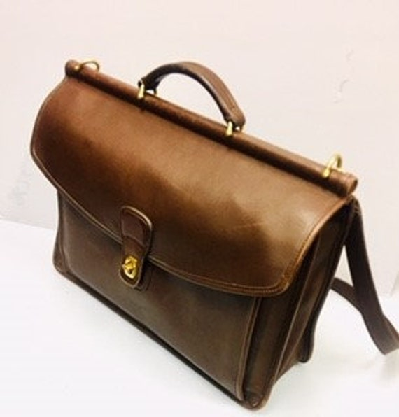 Coach Beekman Briefcase Messenger Bag Attache Lapt