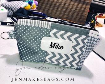 mike - medium zipper bag