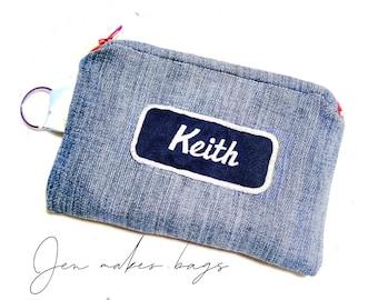 keith - small zipper bag