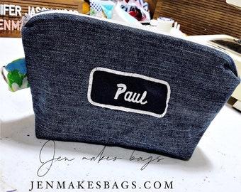 paul - medium zipper bag
